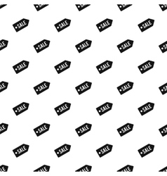 Tag sale pattern simple style vector