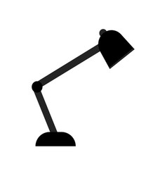Work lamp icon vector