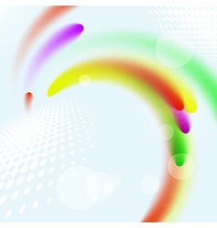 Abstract colorful stylish wave design vector image