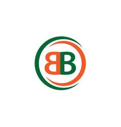 Bb company logo template design vector