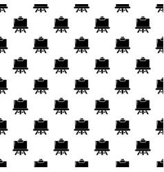 canvas icon simple black style vector image