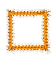 Decorative Yellow Frame vector