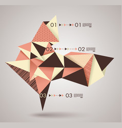 geometric shapes for option lines documents vector image