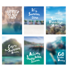 lettering positive inspirational quote holiday vector image