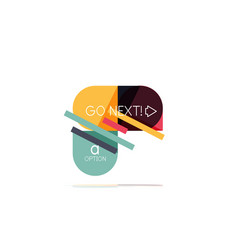 Minimal flat clean abstract option step vector