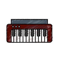 Piano icon image vector