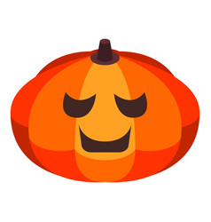 Thanksgiving pumpkin icon isometric style vector
