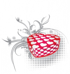 valentines gift 3 vector image