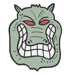 green monster vector image vector image