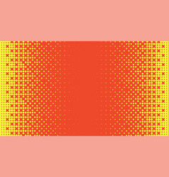 yellow and orange abstract horizontal background vector image vector image