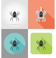 halloween flat icons 04 vector image vector image