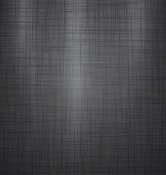 Dark Linen Background vector image vector image