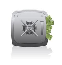 15 full safedeposit box vector
