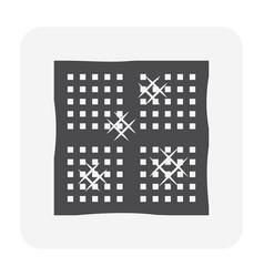 Air conditioner filter vector