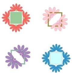 Element ornament pattern frame vector image
