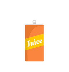 juice can icon flat style vector image