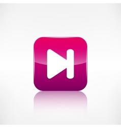 Next track web iconMedia player vector