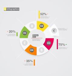 Pie chart vector