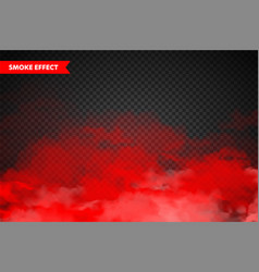 Realistic colorful smoke clouds mist effect fog vector