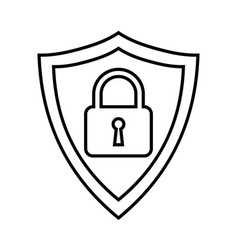 secure web 2 vector image