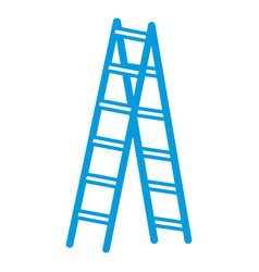Step ladder tool vector