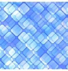 Blue abstract squares background vector