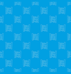 Abacus pattern seamless blue vector