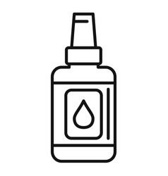 Antiseptic body care icon outline style vector