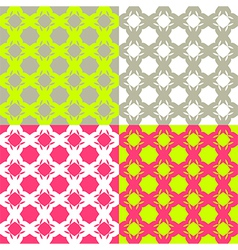 Bright checkered pattern vector