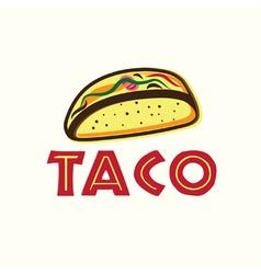 Mexican Taco vector image