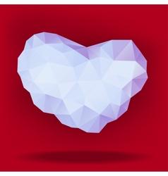 Precious heart vector
