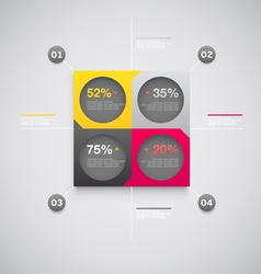 Design infographic vector image