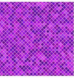 Purple diagonal square pattern background vector