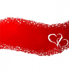 valentines day frame vector image