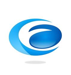 business circle abstract logo vector image vector image
