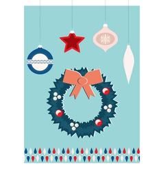 christmas jewelry vector image