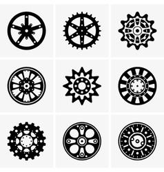 Sprocket wheel vector image vector image