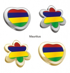 flag of Mauritius vector image