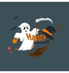 Fun for halloween flat design vector