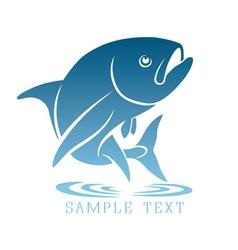 Logo tuna vector