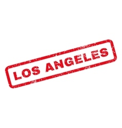 Los Angeles Rubber Stamp vector image