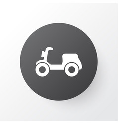 moped icon symbol premium quality isolated vector image