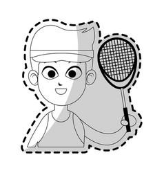practice sport design vector image