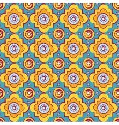 Seamless byzantine style background vector image