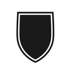 shield 8 vector image