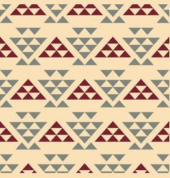 Tribal southwestern navajo seamless pattern vector