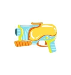 Colorful fantastic water pistol vector
