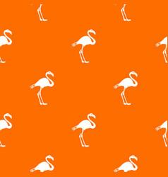 flamingo pattern seamless vector image vector image