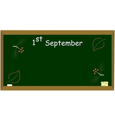 1st september vector image