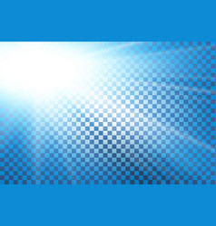 Blue sky sun flare transparent background clear vector